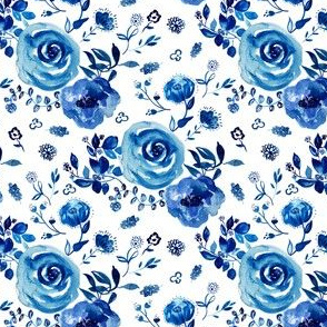 """4"""" Chinoiserie Florals"""