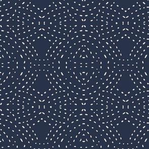 seville quilt navy