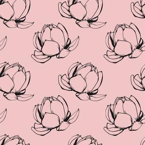 Samantha Floral Pink