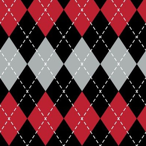 Argyle - red and black - LAD19
