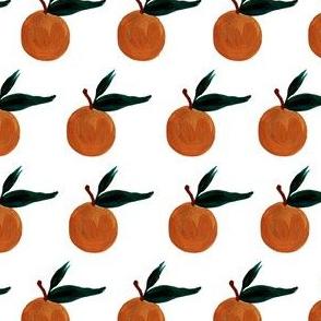 clementine on milk