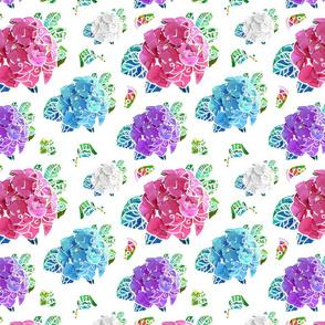 Hydrangeas in White (smaller)