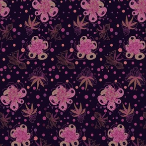 Temperamental Flowers - Pink
