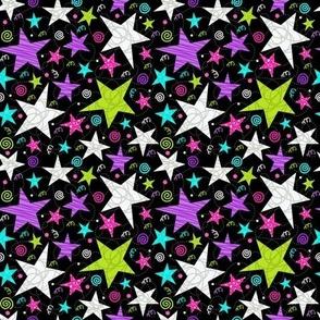 Bright star swirls