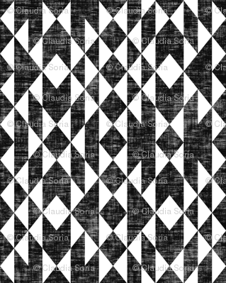 Geos - Black & White Texture (small)