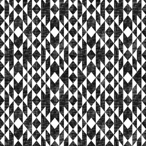 Geos - Black & White Texture (small) fabric by kimsa on Spoonflower - custom fabric