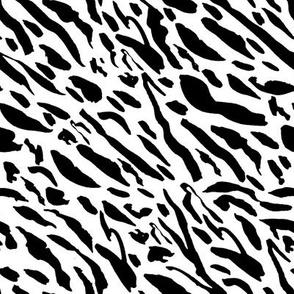"8"" Black Tiger Stripes"