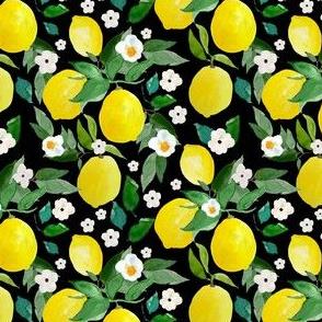 """4"""" Lemons Black"""