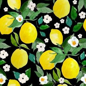 """8"""" Lemons Black"""