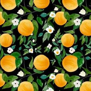 """4"""" Oranges Black"""