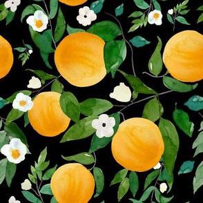 """8"""" Oranges Black"""