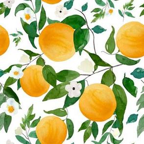 """8"""" Oranges White"""
