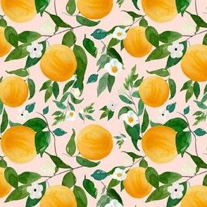 "4"" Oranges Pink"