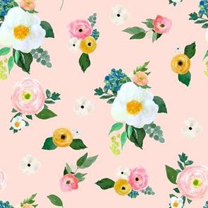 """8"""" Spring Blooms Pink"""