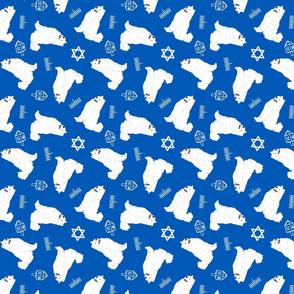 Tiny Samoyed - Hanukkah