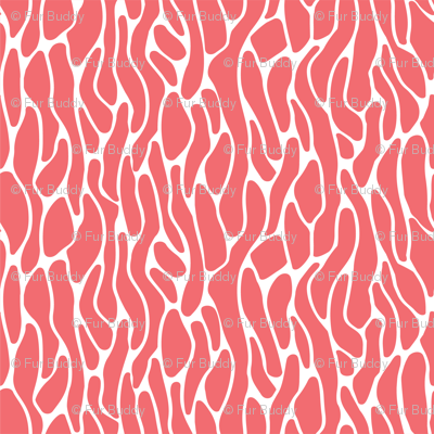 Living Coral and White Coral Pattern-2-01