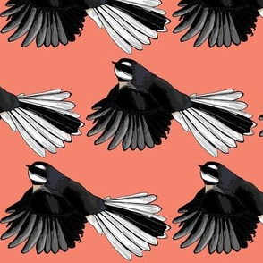 fantail fabric, wallpaper & gift wrap - Spoonflower
