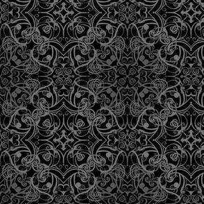 StacyCK Studio - Gothic Grey Damask V3