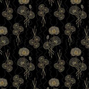 Murky Waters Dark Waterlilies