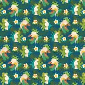 Tropical Life - Teal SMALL