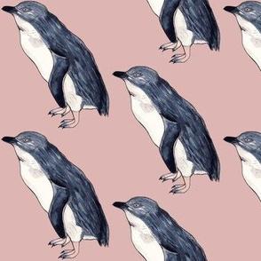 Little Blue Penguin Pink Quartz