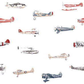Red White and Blue Planes