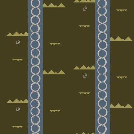 Hidden Mountain | Camelot fabric by lochnestfarm on Spoonflower - custom fabric