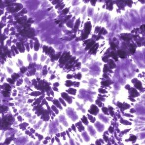 purple 2 tie dye - LAD19