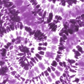 purple tie dye - LAD19