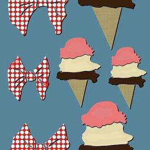 Ice Cream - Blue