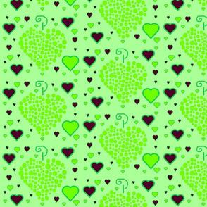 green grape heart