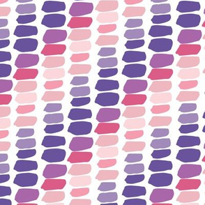 Shades of Purple and Pink Blocks