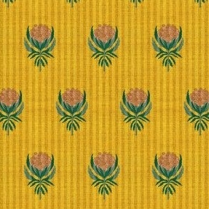 FRENCH VINTAGE PROTEA STRIPE