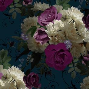 Moody Floral Black