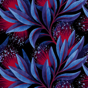 Pohutukawa - Dark Blue