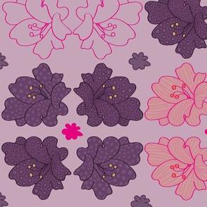 lillies geometric