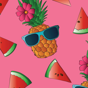 PINEAPPLE-WATERMELON-pink