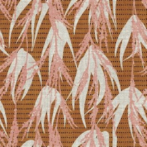 FRENCH VINTAGE PALM PINK