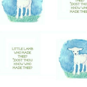Little Lamb (white)
