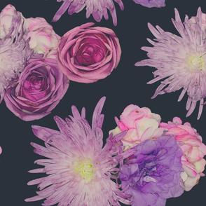 Moody Floral Chrysanthemums
