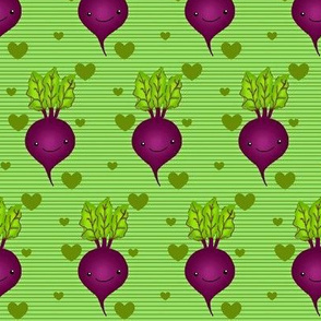 Can you feel my heart beet? Lined red beets w/ hearts
