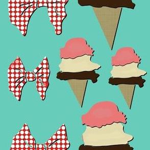 Ice Cream- Green