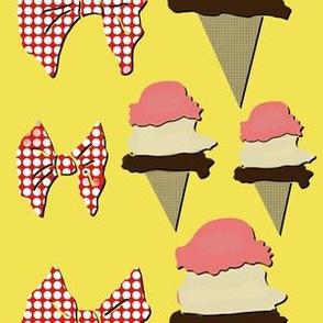 Ice Cream - Yellow