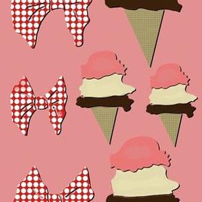 Ice Cream - Pink