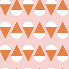 Snow Cone Stand   Pink + Orange