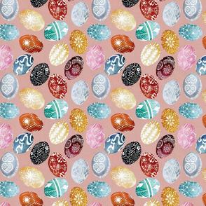 Gouache Eggs - Pysanky (Small)