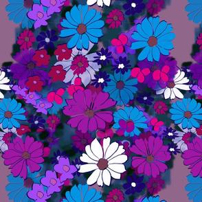 Flowe Girl - purple