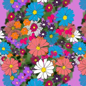 Flower Girl - Purple