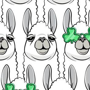 (jumbo scale) Lucky Llama - St Patricks Day - LAD19