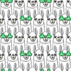 lucky llama - St Patricks Day - LAD19